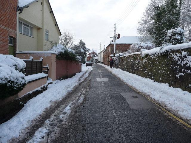 Tiverton : Chapel Street