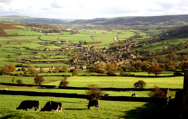 View over Cononley, from Fiddler's Hill