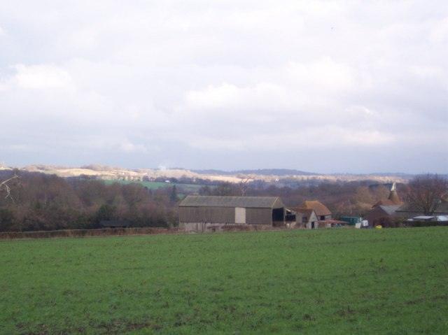View of Lamberhurst Valley