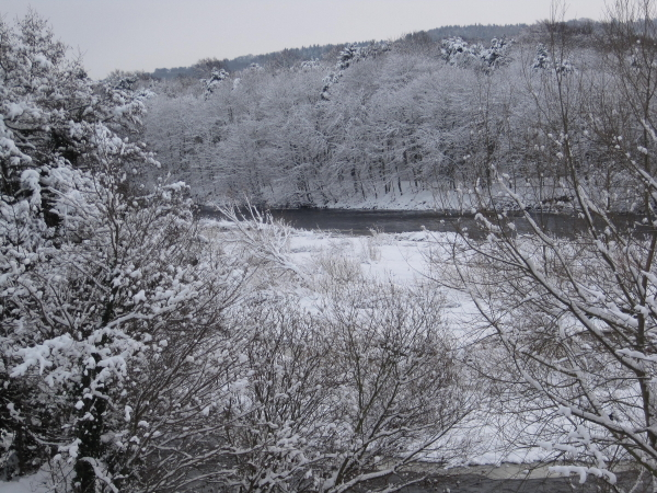 River Tyne at Corbridge