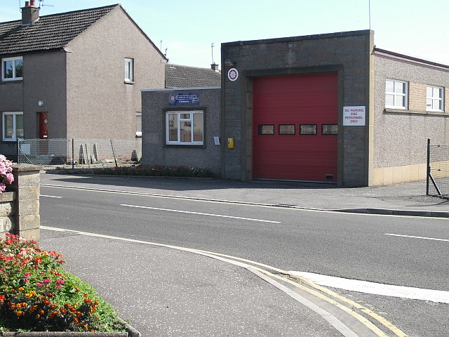 Carnoustie Fire Station