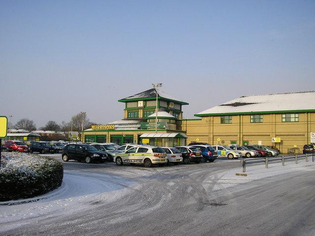 Morrisons Supermarket, Thornbury, Bradford
