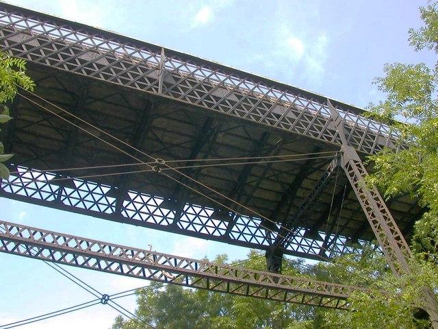 The high bridge, Hunningham