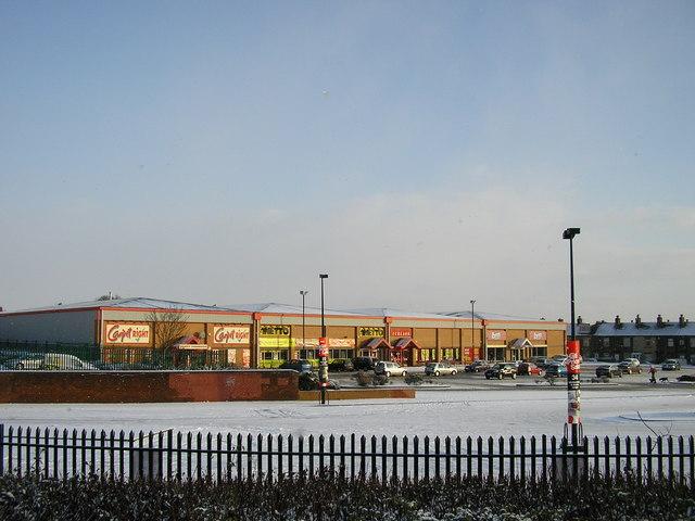 Woodhall Retail Park, Bradford