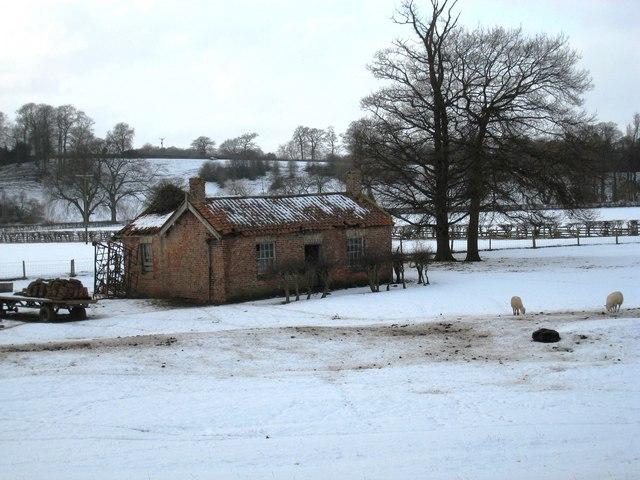Farm building at Low Hail Farm