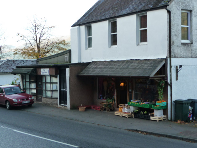 Shop at Arrochar next to the Tipsy Laird