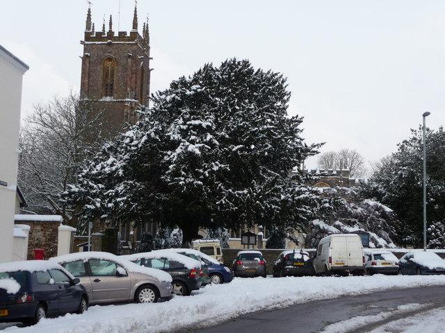Tiverton : St Peter's Street & St Peter's