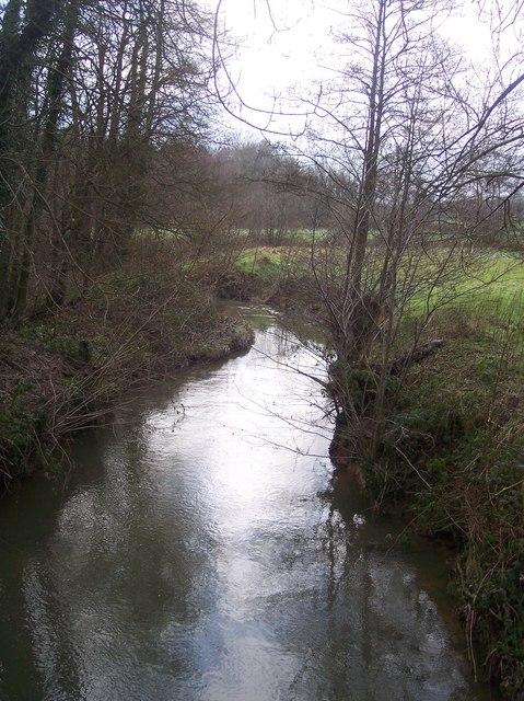The River Teise near Hoathley Farm
