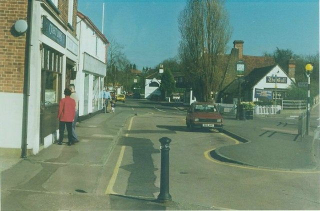 The Bull & LT station Theydon Bois: 1997