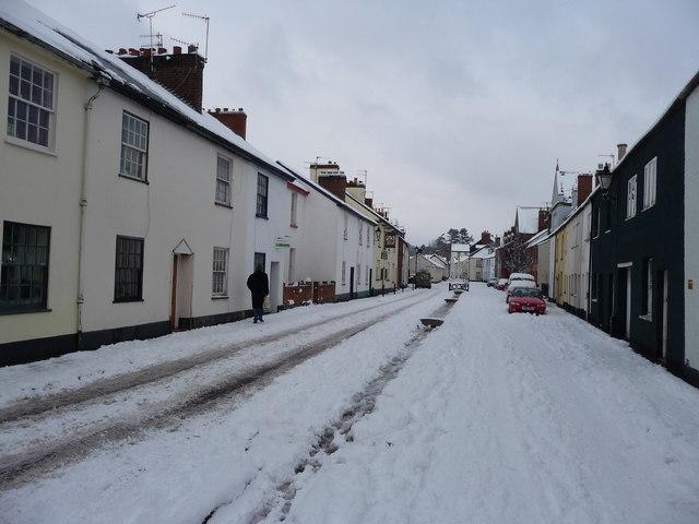 Tiverton : Castle Street