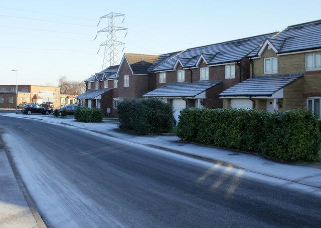 Houses on  Willenhall Street, Newport