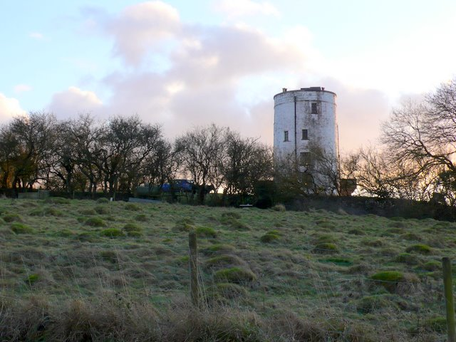 Converted Windmill In the Polden Hills