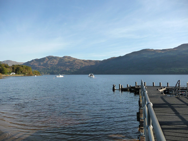 Loch Lomond at Tarbet Pier