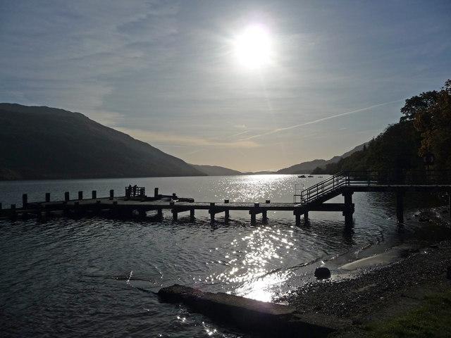 Tarbet Pier, Loch Lomond