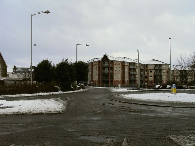 The roundabout where North Walk, Rolle Street and the High Street meet