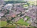 SD7807 : Aerial photograph of Radcliffe by David Dixon