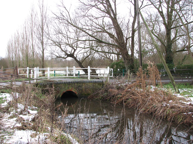 The bridge over Carleton Beck