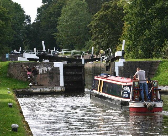 Lock No.45, Hatton Locks, Grand Union Canal