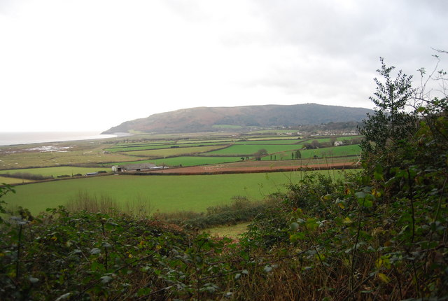 View across Porlock Bay