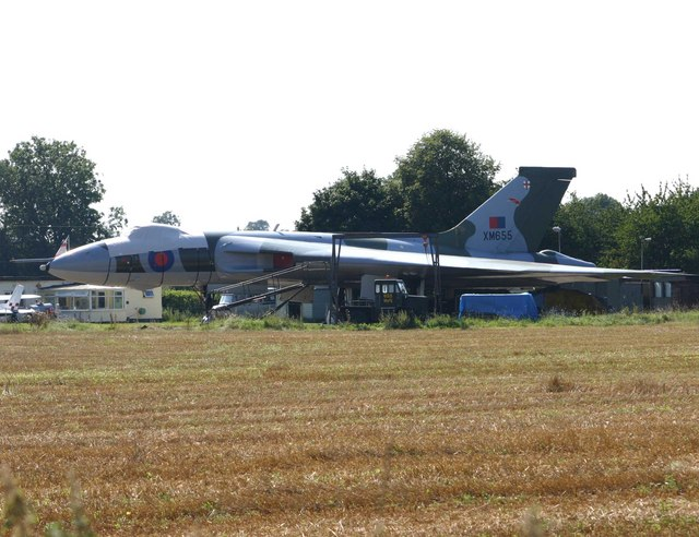 Vulcan XM655 at Wellesbourne Mountford Airfield