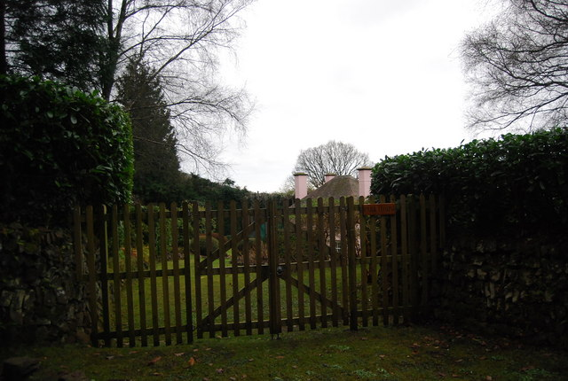 Back gate to Park House, The Parks