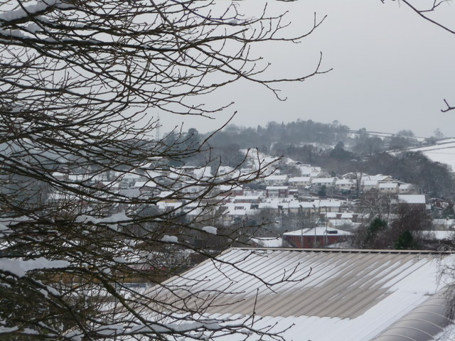 Tiverton : Snowy Rooftops