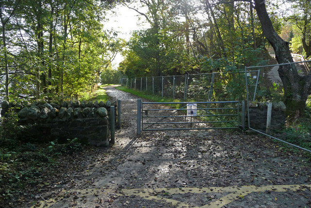 Gate and gap on West Loch Lomond Cycle Path