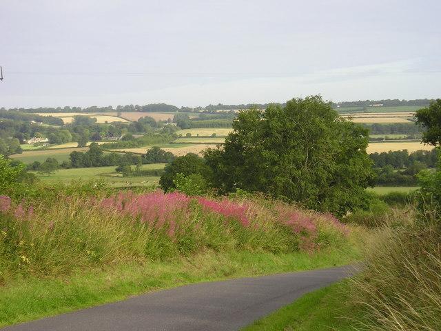 Cotswold view, near Cornwell