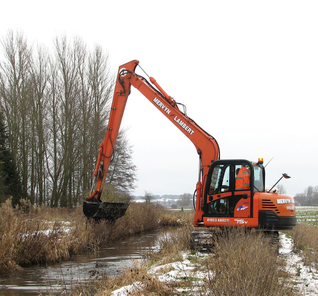 Clearing the stream bank (3)