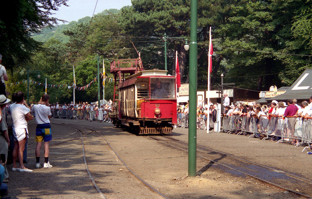 Laxey Station (Snaefell Centenary Parade)
