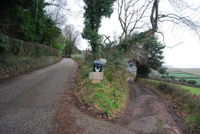 Footpath to West Porlock off the Toll Rd, Porlock