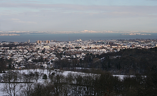 View from Corstorphine Hill