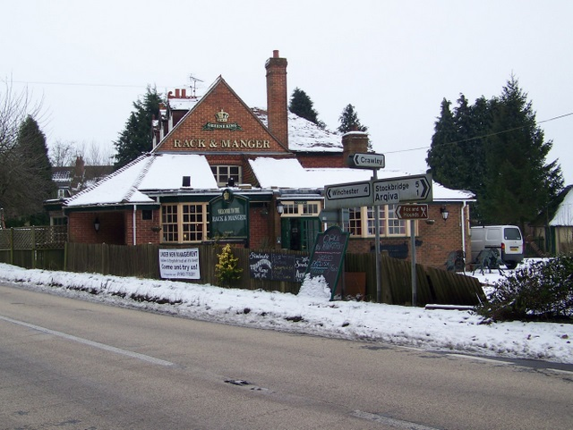 The Rack and Manger near Crawley