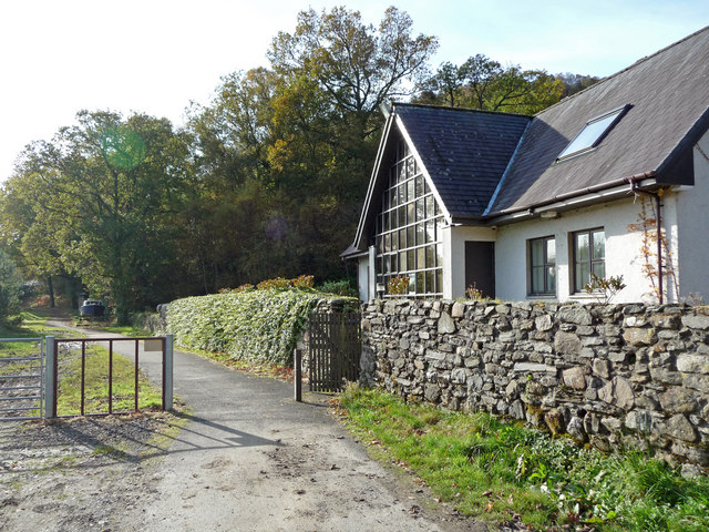 House and cycle path - Inverbeg