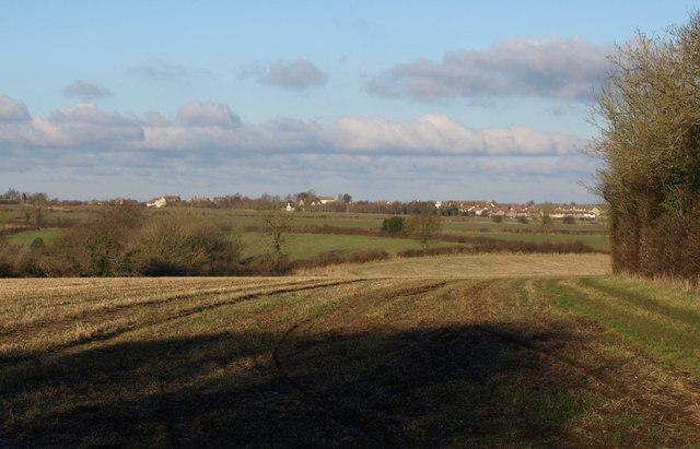 Towards Hawkesbury Upton