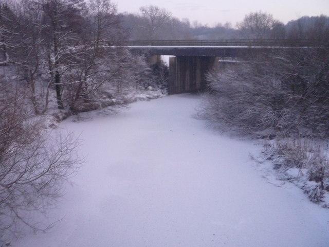 Frozen River Calder