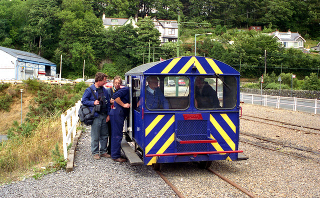 Wickham railcar at Laxey