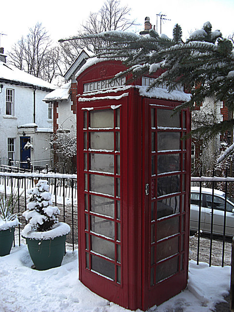 Telephone box, Colinton