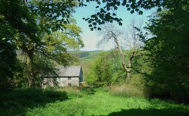 Farmhouse at Nant-y-madwen