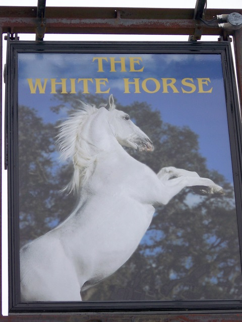 Sign for the White Horse