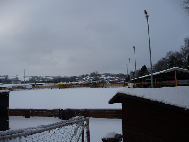 Tiverton : Ladysmead Football Ground