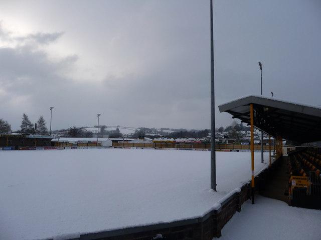 Tiverton : Ladysmead Football Ground