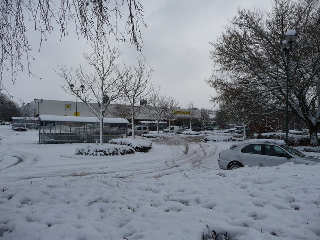 Tiverton : Morrisons Supermarket & Car Park