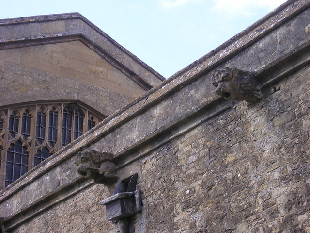 Gargoyles at St Mary's Church, Chipping Norton