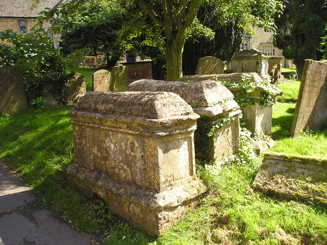 Old Tombs at St Mary's, Chipping Norton