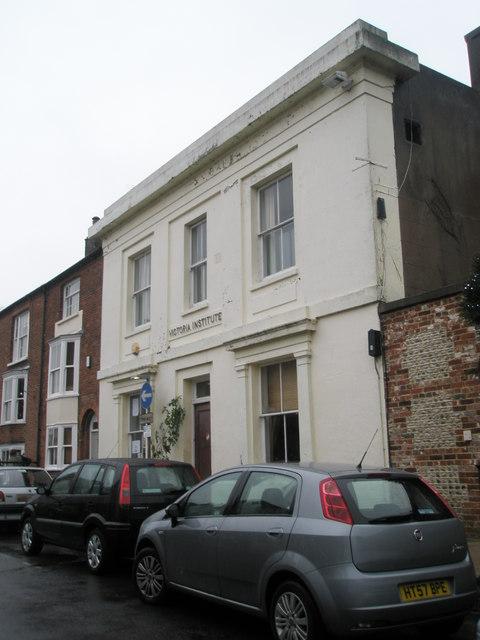 Victoria Institute in Tarrant Street