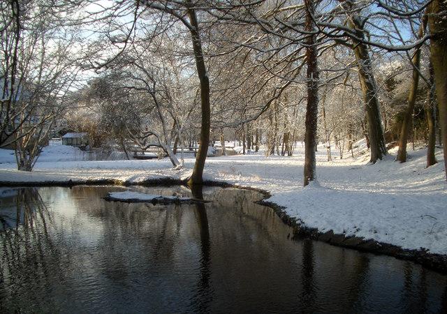 Pond at North Stoke