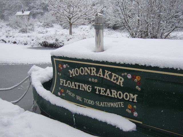 Moonraker Floating Tearoom, Slaithwaite