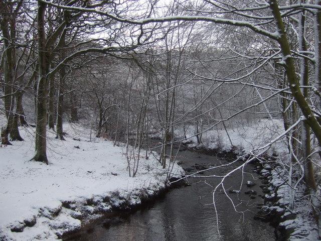 River Colne near Holme Villas, Marsden