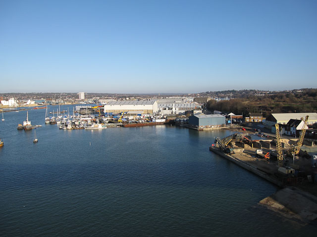 Industry by the Itchen